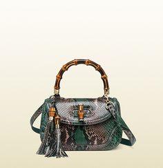 Gucci - new bamboo top handle bag 254884E740G3182