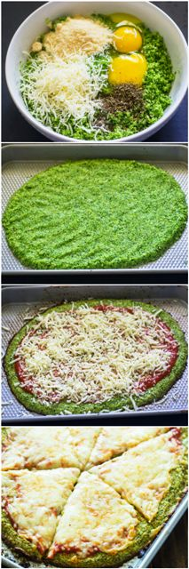 I made this today. Tasted great and I much prefer the broccoli over the cauliflower crust taste. However, I am not sure what I am doi...