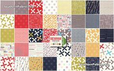 Reunion by Sweetwater  Scrap Bag Quilt Fabric by southernfabric, $17.99