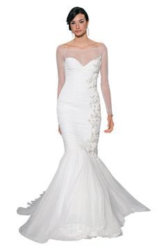 Gown by Mark Zunino For Kleinfeld