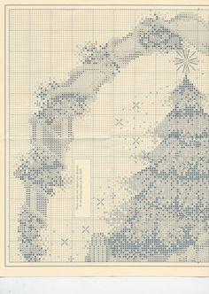 Gallery.ru / Фото #1 - 63 - elypetrova Christmas Tree Cross Stitch 1