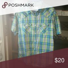 Men's shirt Gently used Pearl Snap shirt Aeropostale Shirts Casual Button Down Shirts