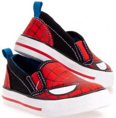 b38d68006d51b5 Marvel Comics Spider-Man Slip On Shoes