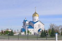 Church of the Life Giving Trinity, village Kazachinskoye, Krasnoyarsk Region, Siberia, Russia - Russian Orthodox Church