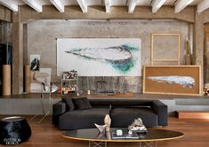 decordemon: Raw loft in Como by Italian architect and artist Marco Vido
