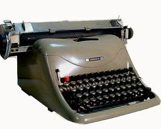 Macchina per scrivere Olivetti Lexicon 80, 1948