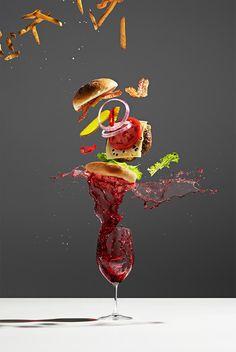 """Conceptual Food"" - Fotografien von Michael Crichton und Leigh MacMillan."