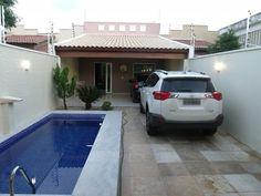 Mini House Plans, Pool House Plans, Model House Plan, Small House Plans, Small Backyard Pools, Backyard Bar, Small Pools, Small Pool Design, Small Space Interior Design
