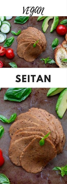 Seitan - Seitan is a fantastic meat alternative. Made from protein-rich wheat gluten, it is both tasty and nutritious. You can do just about anything with seitan from sandwiches to stir fries and this recipe is the best I have ever made. If you're concerned about heating up plastic wrap, you can skip this step, it is mainly to help the seitan keep its shape. Or use BPA and phthalates free, microwave safe plastic wrap.