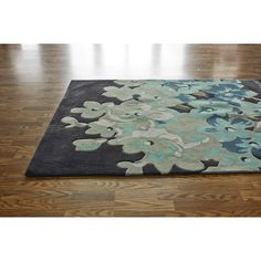 Pretty — Entryway or Living  5x8 and 7.6x9.5  $375  nuLOOM Pop Spa Blossom Rug