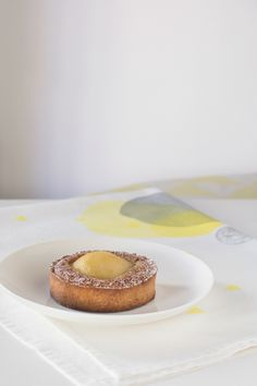 Crema frangipane + peras = Tarta Bourdaloue