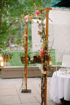 #chuppah  Photography: Divine Light Photography - dlweddings.com  Read More: http://www.stylemepretty.com/2013/09/06/new-york-city-wedding-from-divine-light-photography/