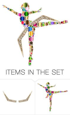 """""""Dancer"""" by seeyoumoon ❤ liked on Polyvore featuring art, contest, dance, 2itemsonly and Dalimoustache"""