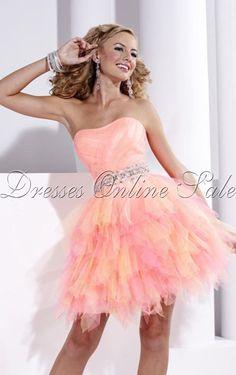 Kaufen Roses Prinzessin-Stil Knielanges Trägerloser Ausschnitt Kleid Online - 4p89 - sku107120511a17