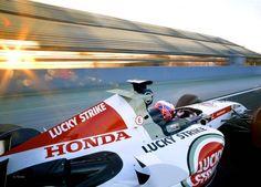 Jenson Button Bar 007 Honda 2005