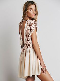 Free People Lost In A Dream Twofer Dress at Free People Clothing Boutique