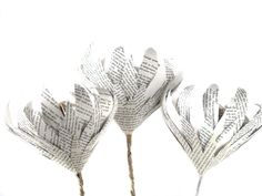 Indigenous Paper proteas handcrafted to order  from recycled papers