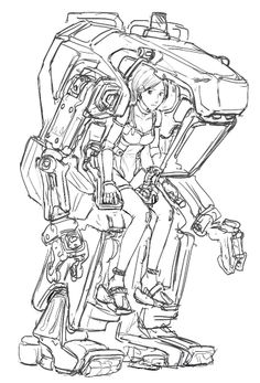 exo coloring pages   12 Best my artworks: exo-suit, space suit images   Art ...