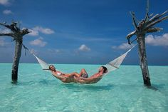 Bliss in the Maldives :)