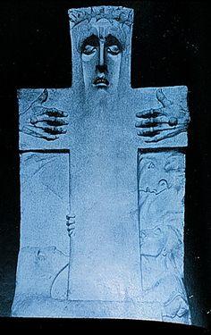 Boleslas Biegas (Polish) Crucifix, 1900
