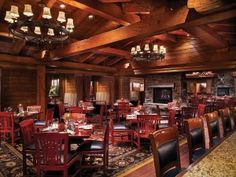 Timberline Grill Steakhouse, Ameristar Casino Resort Spa in Black Hawk, Colorado.