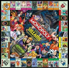 Monopoly - Villains (100 pieces)