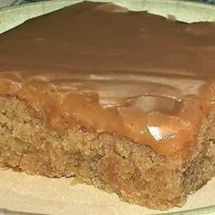 Peanut Butter Sheet Cake - Texas Sheet Cake made with peanut butter instead of…