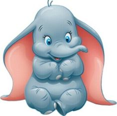 Dumbo is the Disney movie. It stars Dumbo, an elephant with big ears who is ridiculed for them. Art Disney, Disney Magic, Disney Pixar, Punk Disney, Disney Dumbo, Walt Disney Cartoons, Cute Disney Characters, Disney Movies, Baby Dumbo