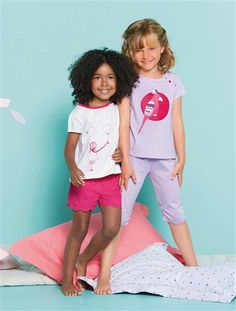 #Pyjama fille Collection Printemps-Eté 2015 www.vertbaudet.fr