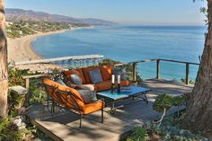 The view from a mobile home for sale Paradise Cove Malibu | Hooked on Houses