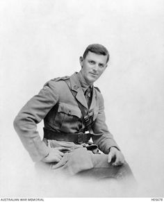 Studio portrait of Lieutenant (Lt) Walter Granlees Boys, 25th Battalion, of Maryborough, Qld. A master draper prior to enlistment, Lt Boys embarked from Brisbane on HMAT Aeneas on 29th June 1916. After promotion to Captain (Capt), he died of wounds received in action on 5th August 1916 and was buried in the Warloy Ballion Communal Cemetery Extension, France. (AWM)