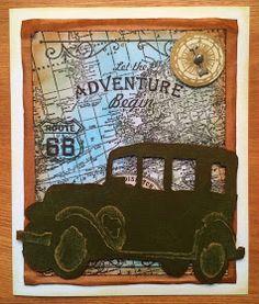 Wendy's Card Craft: Tim Holtz 'Old Jalopy'