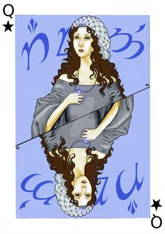 Арвен karty-Arwen Q by NimwenHabareth