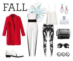 """""""FALL"""" by annastifler ❤ liked on Polyvore featuring Alexander Wang, Chicnova Fashion, Alexander McQueen, Emilio Pucci, H&M, Givenchy, ASOS, Alexis Bittar, Bulgari and loafers"""