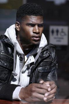 So fuckin Sexy Beautiful Men Faces, Black Is Beautiful, Gorgeous Men, American Horror Story Characters, Broderick Hunter, Black Male Models, Handsome Black Men, Black Man, Portraits