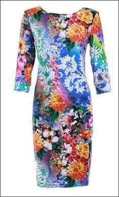 Joseph Ribkoff 2014 Spring dress.