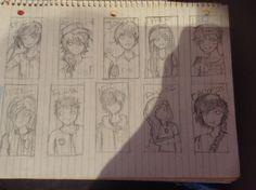 Heros of Olympus drawing