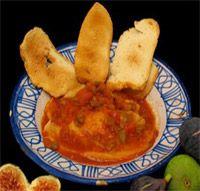Sopa de tomate estilo de Guadalupe - Cocina extremeña. Gastronomía de Extremadura - RedExtremadura.com