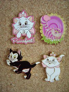Disney Pins...B would love a Marie pin