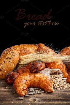 Check out Croissants by Grafvision photography on Creative Market