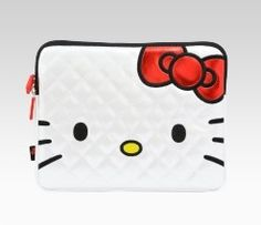 An image of Hello Kitty iPad Case: Face,have an ipad?!!