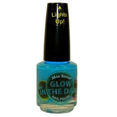 cool   Mia Secret Glow In The Dark Neon Nail Lacquer Nail Polish GD-03 Blueberry Pop Neon Turquoise Blue #fashion #beauty #lifestyle #vintage #beverage #vintagedress #hair #nails