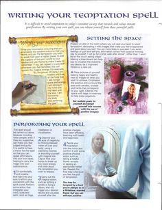 Enhancing Mind Body Spirit 22 Casting Spells Card 47 back Writing Your…