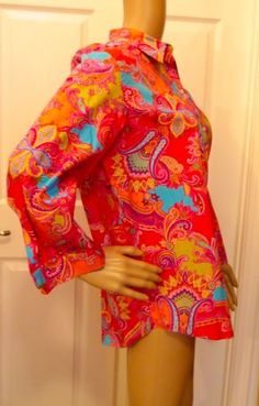 sold thank you! CHAPS WOMENS COLORFUL PAISLEY FLORAL SHIRT LONG SLEEVE BUTTON FRONT NEW W TAGS  http://r.ebay.com/YJmPnn