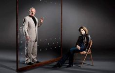 Dr. Hannibal Lecter and Clarice Starling for Empire Magazine.