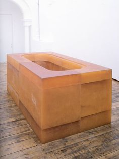 Rachel Whiteread, Untitled (Yellow Bath) 1996, Rubber and polystyrene. http://www.tate.org.uk/art/artists/rachel-whiteread-2319