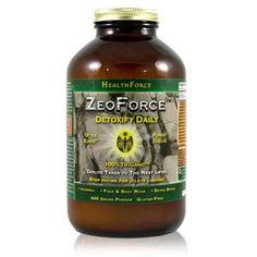 Healthforce Zeoforce Earth Clay Supplements - Cleanse/Detox - Health Conditions | Body Energy Club Supplements