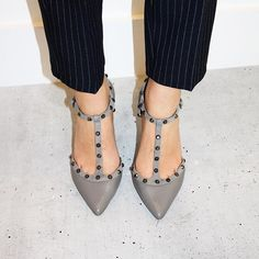 Instagram - Shop Cliopatra #dunelondon #startwiththeshoes #studded #stilettos #midheel #style