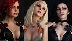 #thewitcher #witcher #thewitcher3 #witcher3 #witcher #wild #hunt #trissmerigold #triss #merigold #ciri #keira #metz #yennefer #yen #vengerberg  #sexy #cosplay #underwear #cosplayer #girls #lingerie #sale