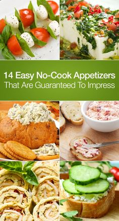 14 Easy No-Cook Appetizers That Are Guaranteed To Impress